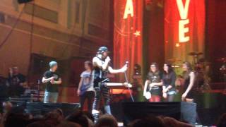 Time Bomb (with fans) - All Time Low - Belfast 18/03/14