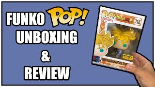 Super Saiyan Future Trunks Dragon Ball Super Funko Pop Unboxing & Review