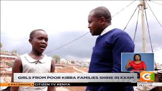Girls from poor Kibra families shine in exam