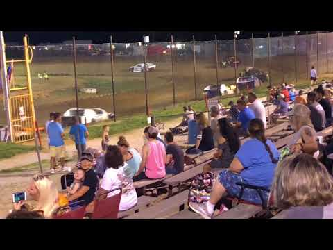 Brayton Skaggs Midwest Mod Feature Race 06/30/2018 Nevada Speedway