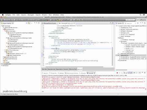 REST Web Services 18 - Returning JSON...