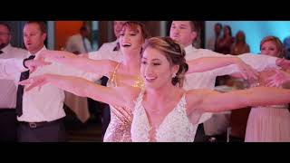 The Greatest Showman Flash Mob Brad & Jacqui Wedding 10102020