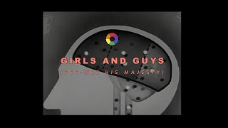 PeeWee His Majesty - GIRLS AND GUYS 👫 [official music video]
