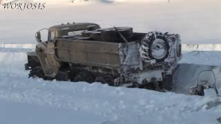 БЕЗДОРОЖЬЕ Севера Колымский зимник