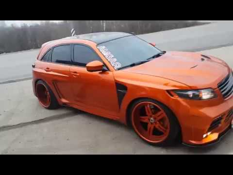 Infiniti Fx 2003 2007 Is The Best And Most Complete Modification