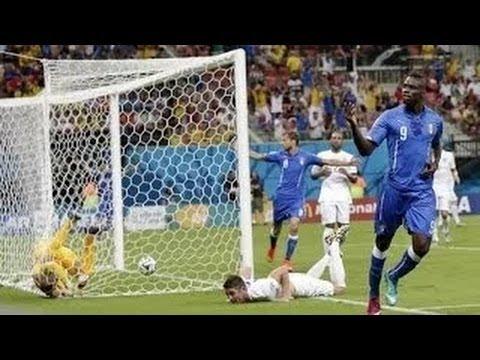 Inglaterra vs Italia 1-2 Goles RESUMEN Copa Mundila Brasil 2014