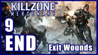 Killzone: Mercenary [ENDING] Walkthrough PART 9 Lets Play Gameplay [PS Vita] TRUE-HD QUALITY