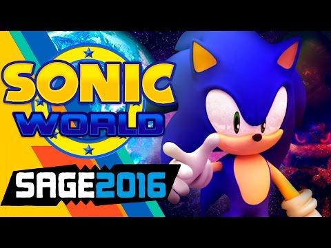 Играем в фан-игры - Sonic World R7 (SAGE 2016)