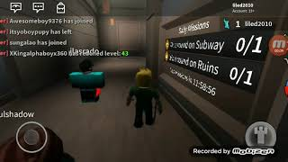 Roblox me playing assassin from in w Eduardo