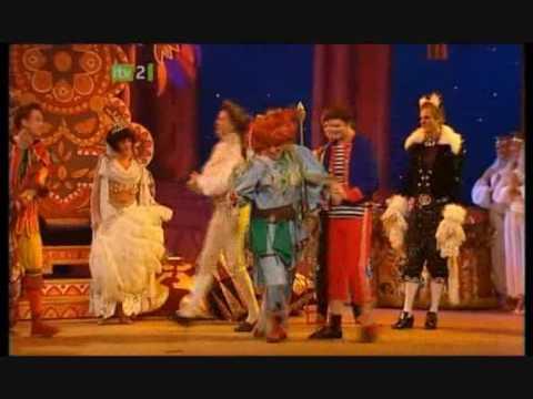Dick wittington pantomine on itv2