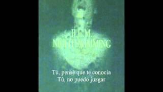 R.E.M. - Nightswimming (traducida al español)