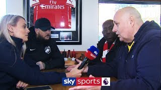 Robbie, Claude and DT from AFTV on Unai Emery