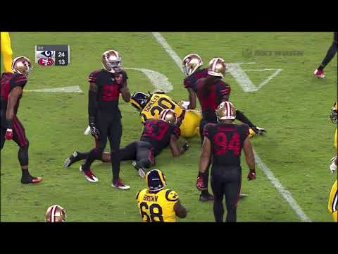2017 Week 3 Rams at 49ers Highlights