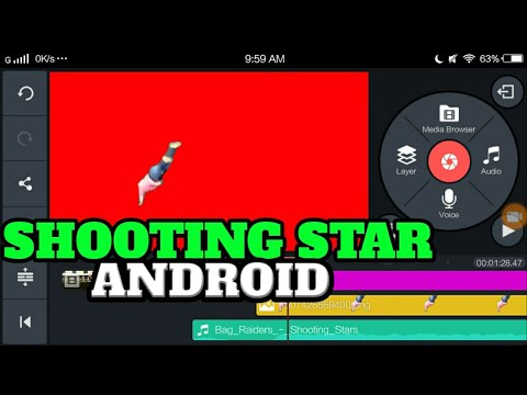 HOW TO MAKE A SHOOTING STAR MEME ON ANDROID ! | Android Tutorial