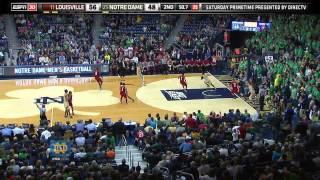 Irish Outlast Louisville In 5 OT - Notre Dame Men