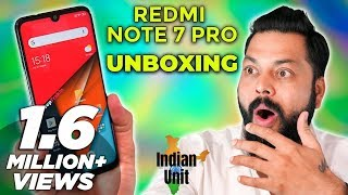 Redmi Note 7 Pro India Unit Unboxing & First Impressions ⚡ ये १००% मार्केट तोड़ेगा!!