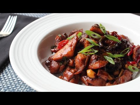 Spicy Caramel Chicken Recipe – How to Make Sticky Spicy Chicken