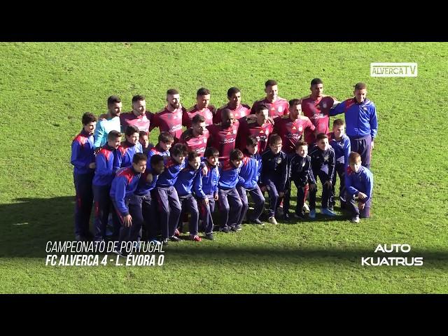 FC Alverca 4 - L. Évora 0 Highlights