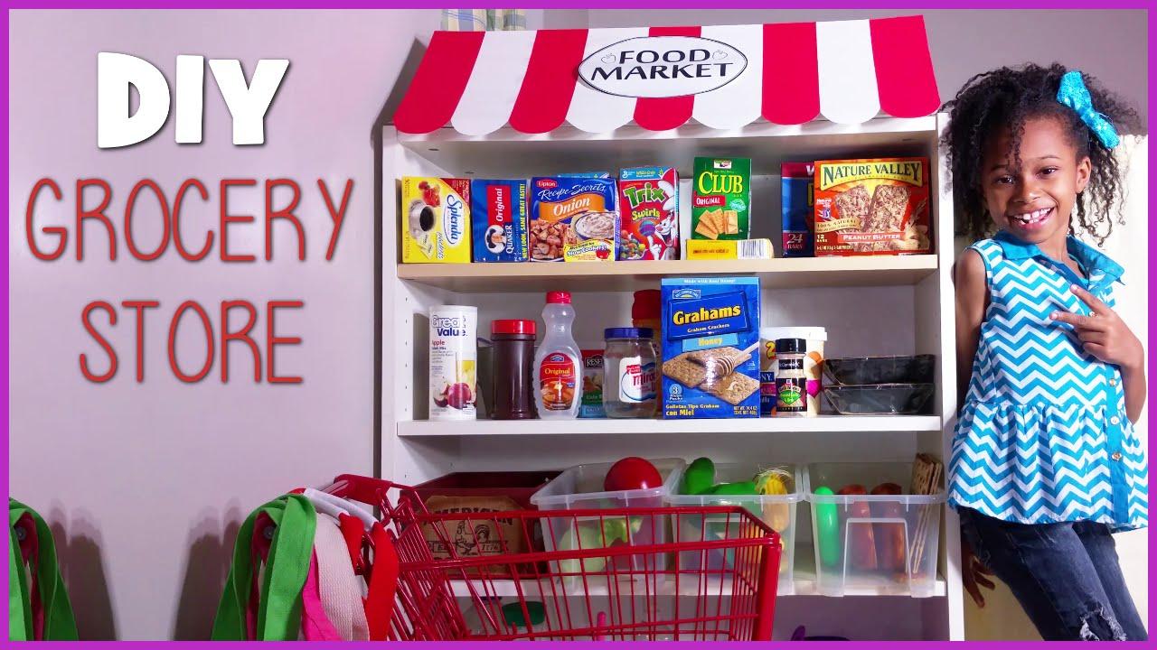 Good DIY Kids Grocery Store   Playhouse Setup   Blueprint DIY Kids Ep.17    YouTube