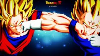 Repeat youtube video Goku VS Majin Vegeta / Skrillex-Monster Killer