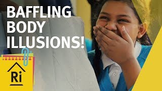 Amazing Body Illusions! Psychology for Kids - ExpeRimental #24