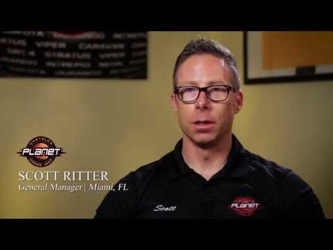 Scott Ritter I General Manager I  Planet Dodge I Miami, FL