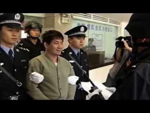 China broadcasts chilling footage of last moments of convicted murderers about to be executed