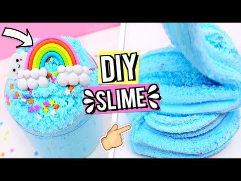 DIY SLIME RECIPES For Beginners! How To Make The CUTEST Slimes!