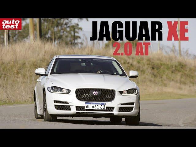 Prueba: Jaguar XE 2.0 AT Auto Test Argentina