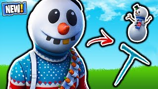 FORTNITE NOUVEAU SLUSHY SOLDIER SKIN! MISE À JOUR DE LA BOUTIQUE D'ARTICLES FORTNITE! GRATUIT SEASON 7 BATTLE PASS GIVEAWAY