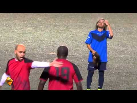 Female soccer player disguised as man stuns male soccer teams