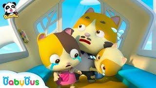 미미가 관람차에 갇혀 있어요!| 갑자기 멈췄어요!|키키묘묘 구조대 출동!|신나는 놀이공원|베이비버스 어린이동화 동요 더보기|BabyBus