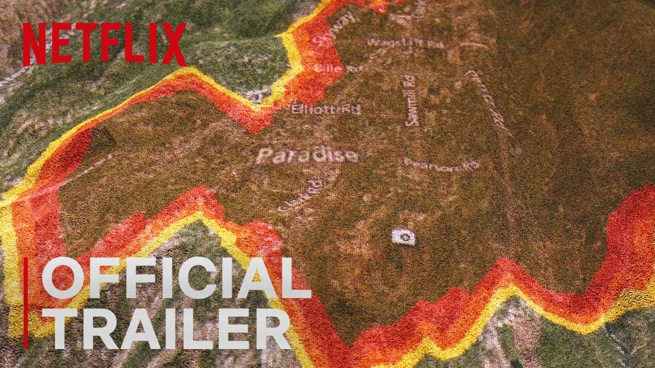Map of fire in paradise ca