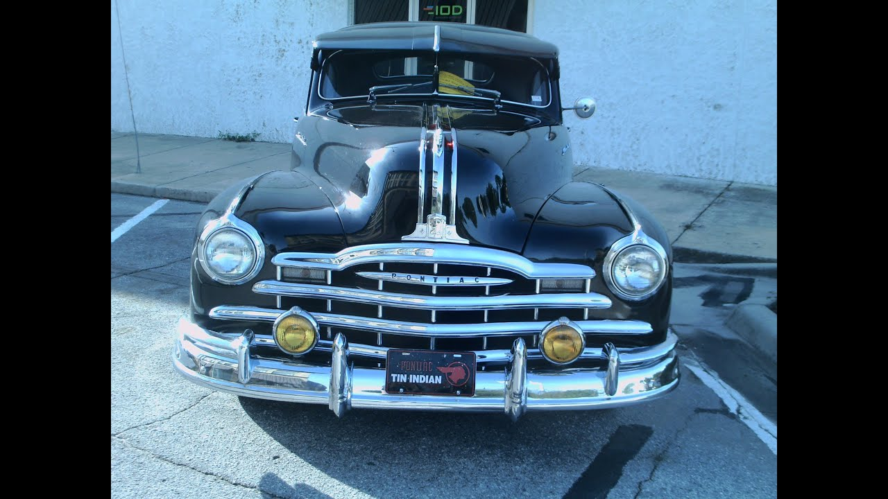 1948 Pontiac Streamliner Sedan T Sedans 1941 Silver Streak Two Door Blk Eust092912