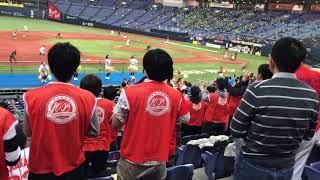 2017/11/04  社会人野球日本選手権  日立製作所 ・応援団 8回裏攻撃