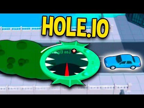 Dansk Hole.io (iPad) - HOLE.IO ER FEDT