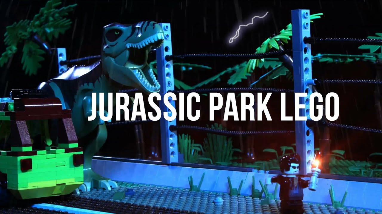 lego jurassic park youtube