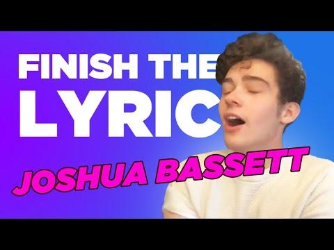 Joshua Bassett Covers Olivia Rodrigo, Shawn Mendes & More | Finish The Lyric | Capital