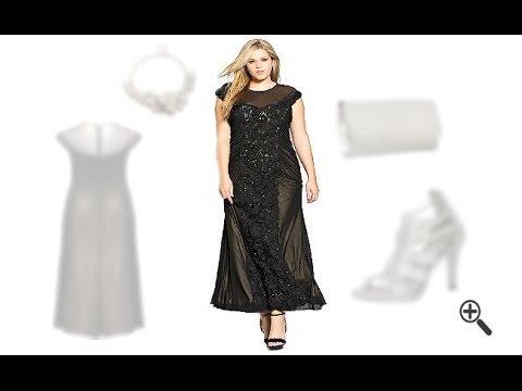 competitive price e77ba e9d1d Lange Abendkleider ab Größe 48 sind ab jetzt für Peggys Abendoutfits kein  Problem mehr