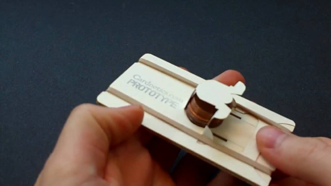 Penny Shooter Business Card - YouTube