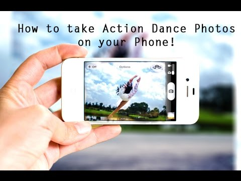 HOW TO Take ACTION Dance Shots SELF PHOTOGRAPHY DIY