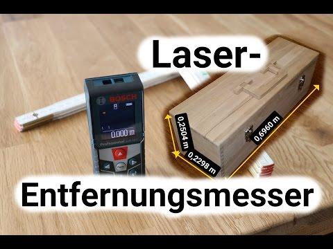 Laser-Entfernungsmesser Unboxing und Review Bosch Professional GLM 50 C Laser-Entfernungsmesser