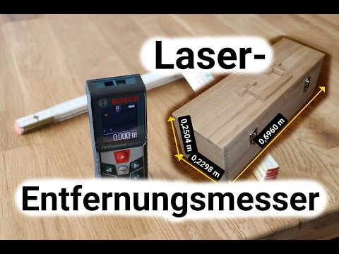 Laser entfernungsmesser was ist drin und wie funktioniert das