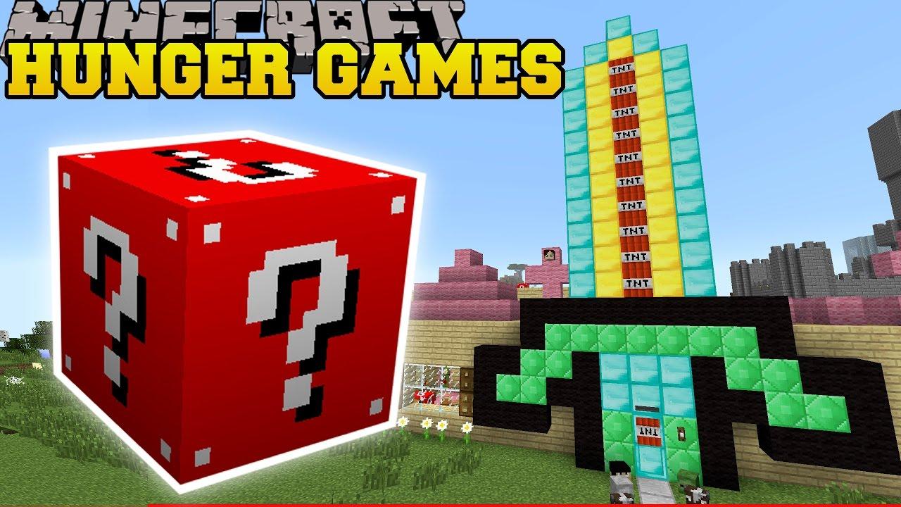 Minecraft Pat S House Hunger Games Lucky Block Mod