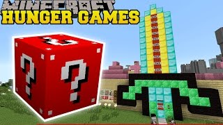 Minecraft: PAT'S HOUSE HUNGER GAMES - Lucky Block Mod - Modded Mini-Game