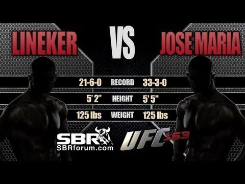John Lineker vs Jose Tome   UFC 163 Preview and Free Picks