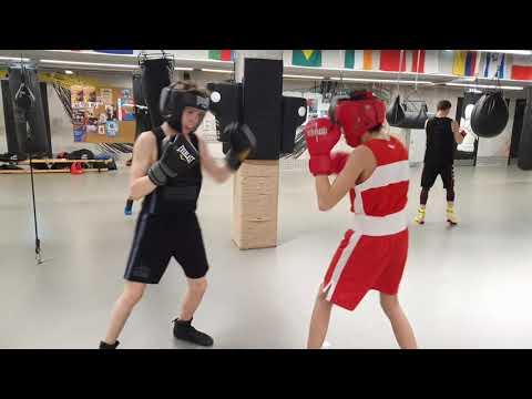 Младшая группа Центрального зала Спортивной Федерации бокса Санкт-Петербурга