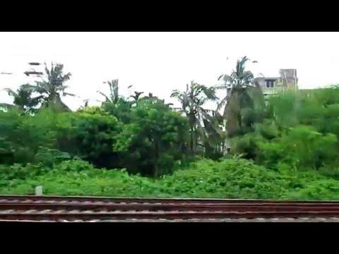 Bally to Belur Railway Journey