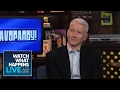"""Kelly Ripa And Anderson Cooper Play """"BRAVOPARDY!"""" 
