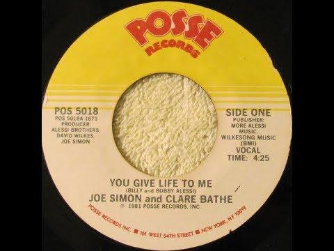 You Give Life To Me CLARE BATHE & JOE SIMON Video Steven Bogarat